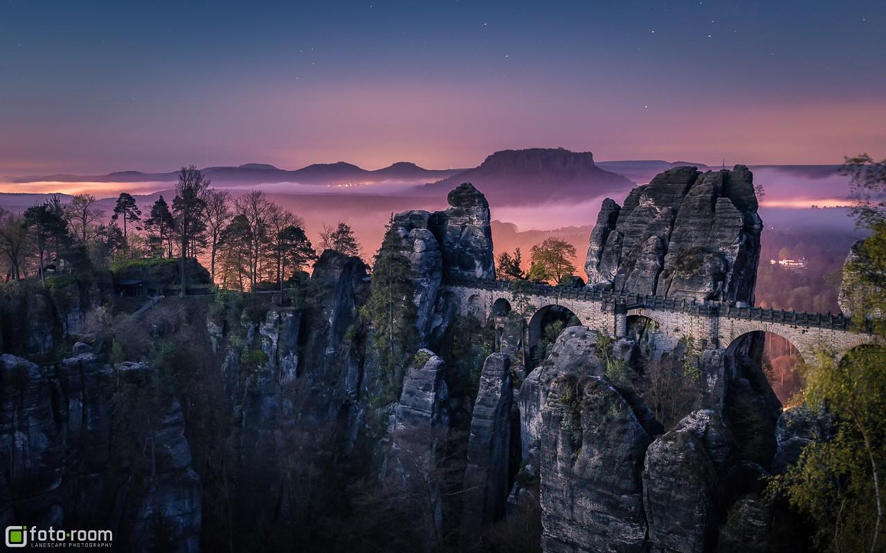 Sächsische Schweiz - Basteibrücke - Elbsandsteingebirge