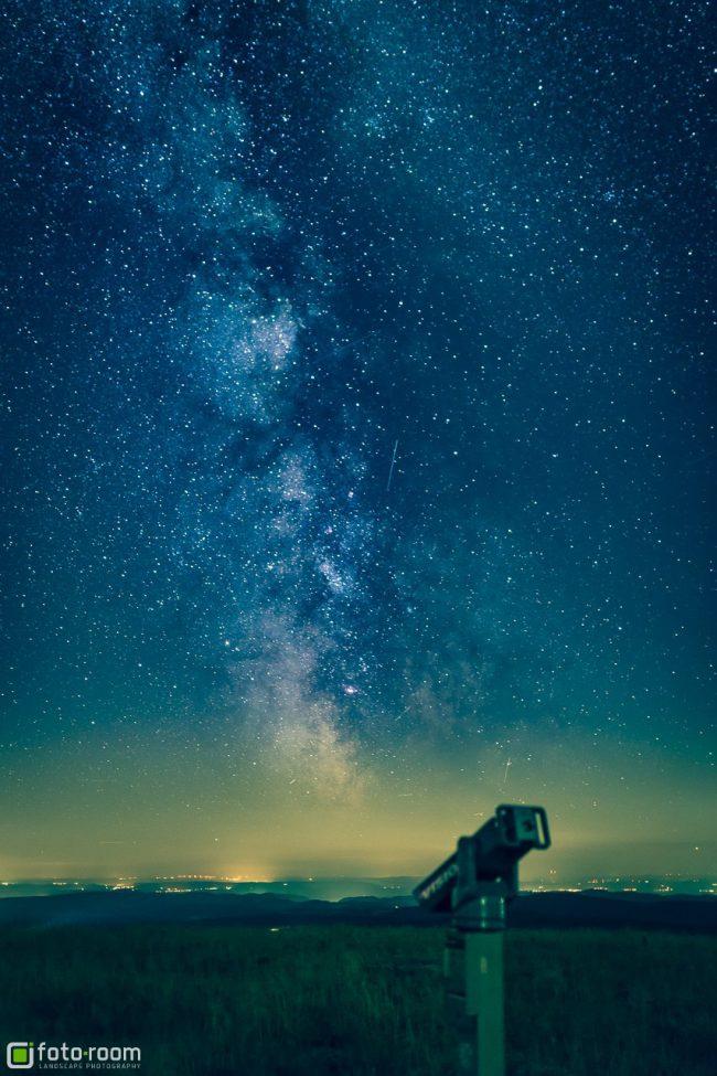 Brocken mit Milchstraße