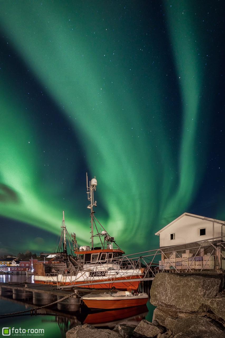 Auroras Polarlichter Ballstad