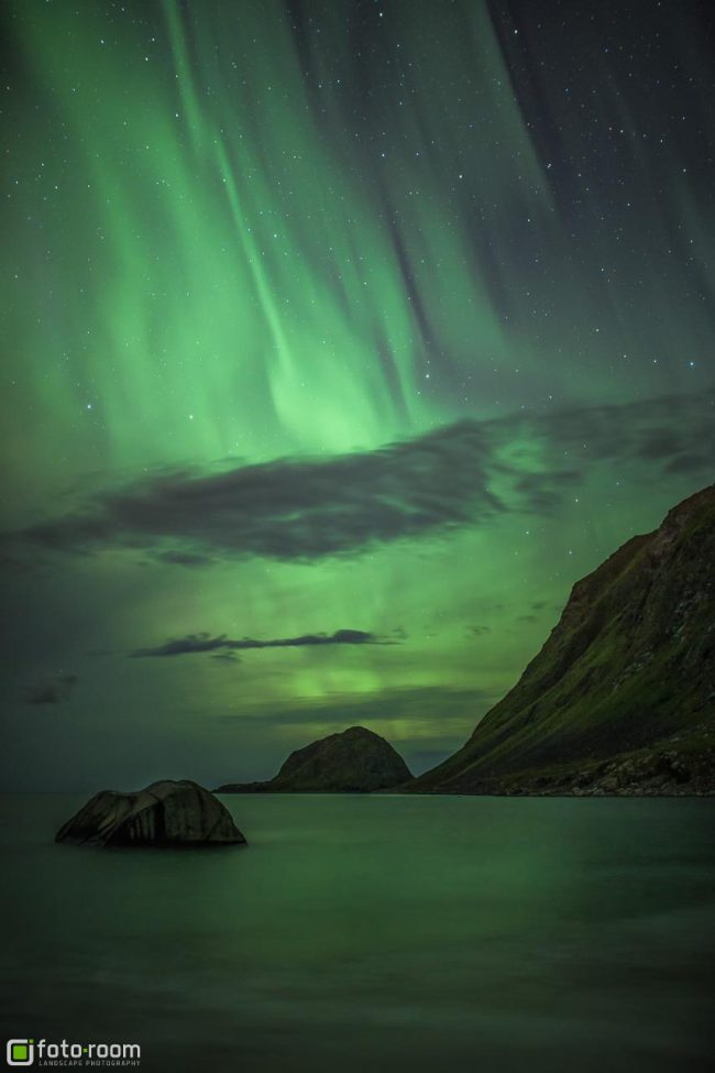 Auroras Polarlichter Lofoten