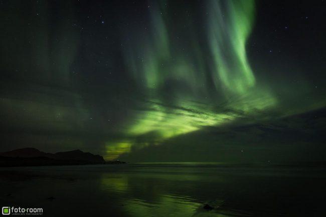 Auroras Polarlicht Lofoten
