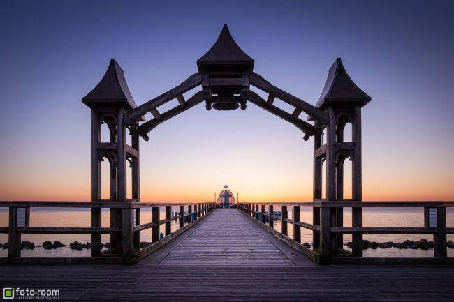 Seebrücke Tauchgondel Sellin Strand