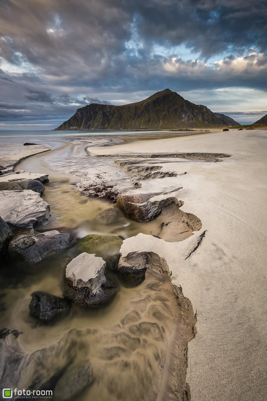 Skagsanden Beach Flakstad