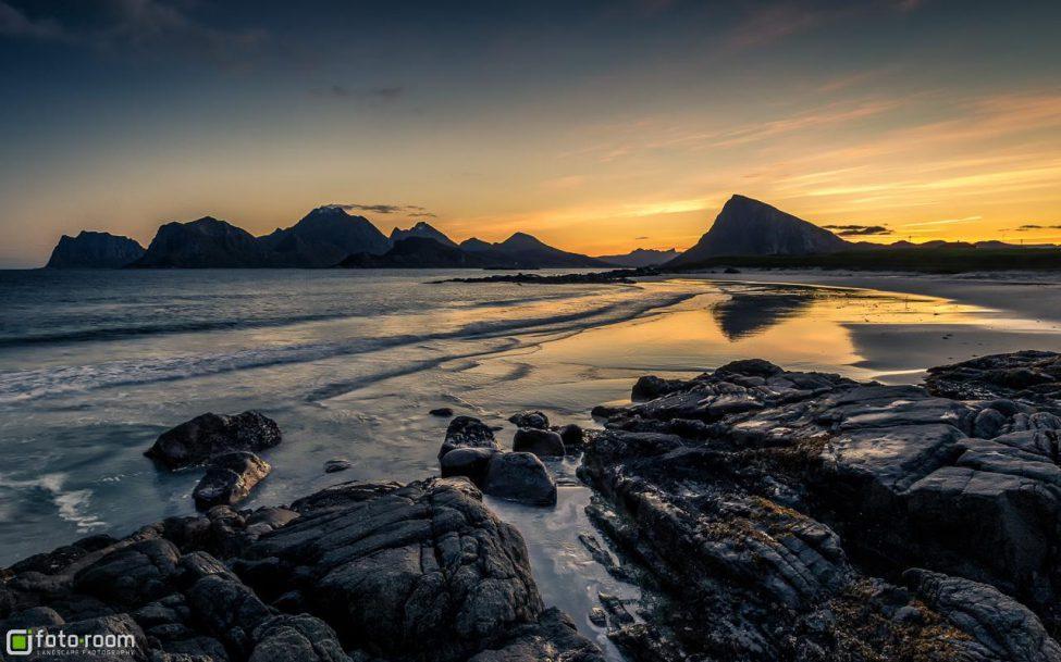 Storsandnes Beach Lofoten