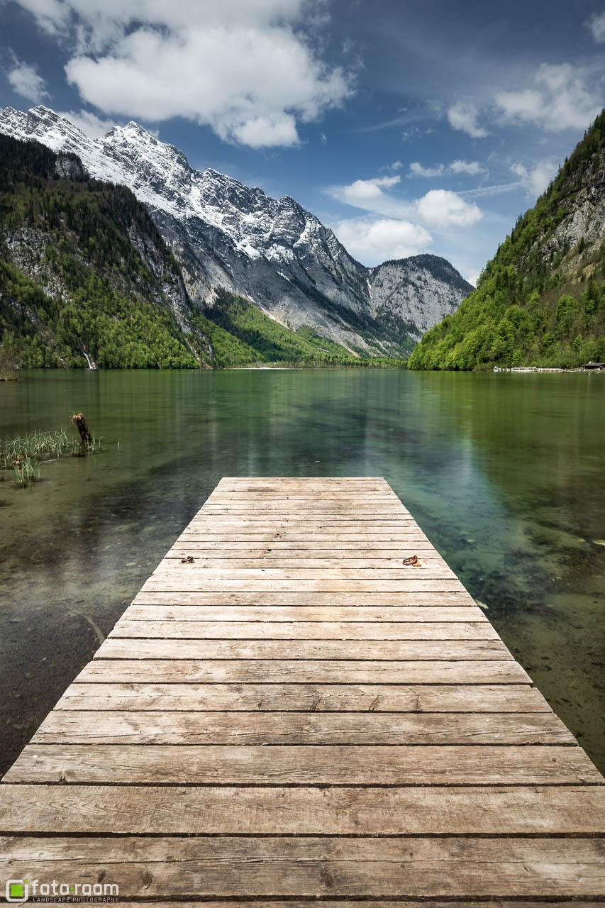 Königssee Anleger Steg Salet
