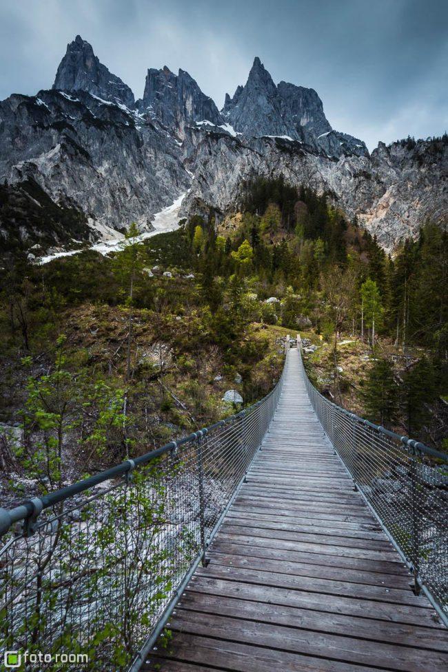 Mühlsturzhörner mit Hängebrücke