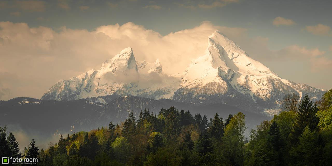Watzmann als Panorama